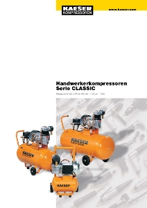 KAESER Kleinkompressor Serie Classic