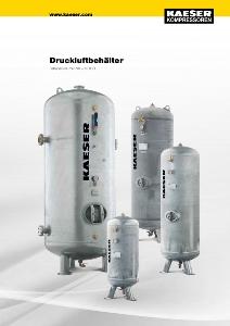 KAESER Druckluftbehälter | Druckluftspeicherung für Druckluftstation