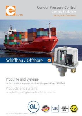 Condor GL Druckschalter Schiffbau 2014