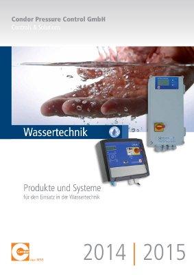 Condor Wassertechnik Druckschalter 2014