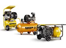 KAESER Kompressor | Kleinkompressoren | Kältetrockner | Druckluftbehälter
