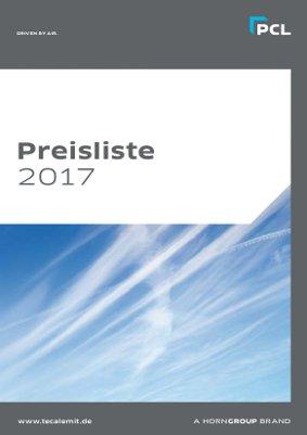 PCL Preisliste 2017