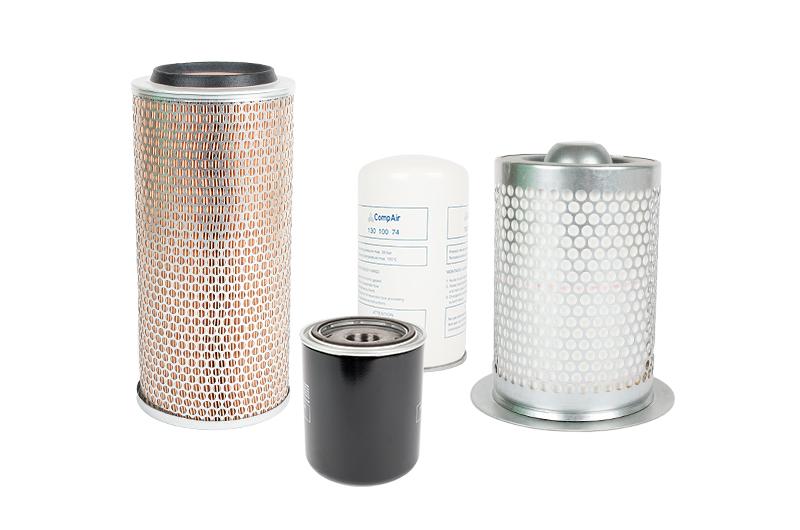 Luftfilter | Luftenölbox | Ölfilter | Ölabscheider
