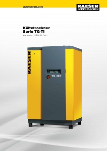 KAESER Drucklufttrockner | Kältetrockner TG - TI