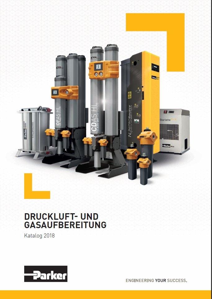 Parker - Druckluft- und Gasaufbereitung - Katalog 2018