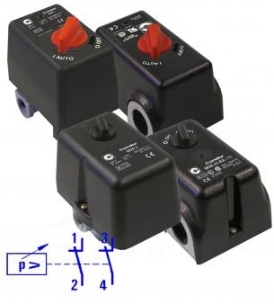 Condor-Druckschalter-MDR-Wechselstrom