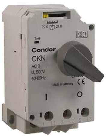 Condor Motorschutzschalter OKN 0,63 / 203407