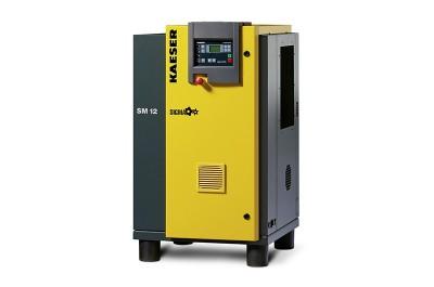 KAESER Schraubenkompressor SM 10 T mit SIGMA CONTROL 2 und Kältetrockner MDM500211102