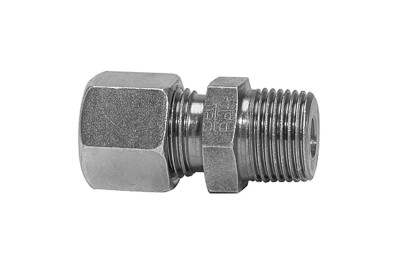 Gerade Schnellverschraubung, R 1/4 außen, Rohr-Ø 6 mm, 315 bar RI-V28