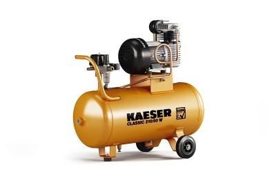 KAESER Kompressor Classic 210/50 W / 1.1702.0 - mobiler Kompressor