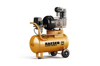 KAESER Kompressor Classic 320/25 D / 1.1719.0 - mobiler Kompressor