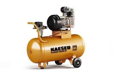 KAESER Kompressor Classic 320/50 W / 1.1706.1 - mobiler Kompressor