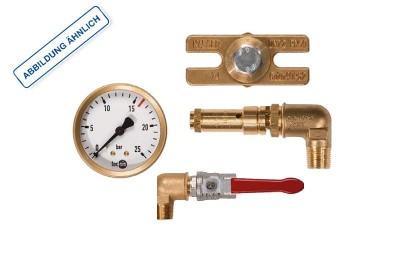 KAESER Grundarmaturensatz für Druckluftbehälter 11 bar steh. 3000 l 8.3050.00010