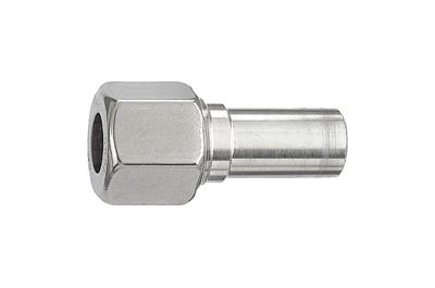 Reduzierung, Edelstahl, Rohr-Ø Zapfen 15 mm, Muffen 8 mm, 315 bar RI-ES217
