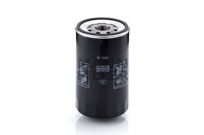 Mann Filter: Mann & Hummel Wechselfilter / Ölfilter, 14 bar W 1160
