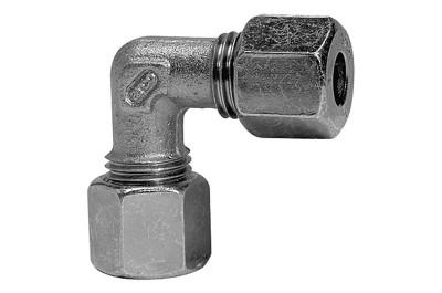 Winkel-Verschraubung, Rohr-Ø 6 mm, 100 bar RI-V72
