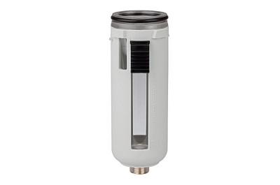 Polycarbonatbehälter + Schutzkorb für Aktivkohlefilter FUTURA, BG1 +O-Ring BSA14