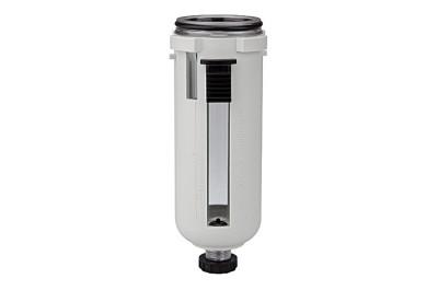 Polycarbonatbehälter inkl. Schutzkorb | »FUTURA«| BG 2 inkl. O-Ring RI-BSF12