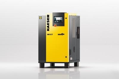 KAESER Schraubenkompressor SM 10-11 T mit SIGMA CONTROL 2 und Kältetrockner MDM500211102
