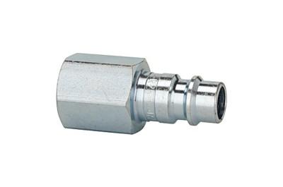 Schlauchnippel NW 7,2-NW 7,8, Stahl gehärtet und verzinkt, G 3/8 innen 243.56ST