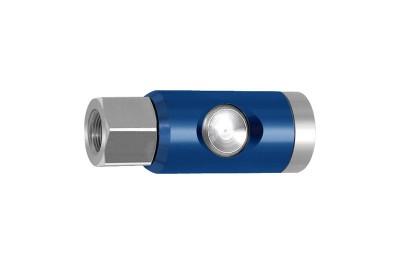 Sicherheitskupplung NW 7,4, Druckknopf-Ausführung, drehbar, G 1/2 innen 244.23-D