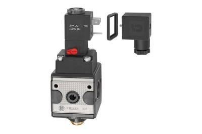 Schaltventil (3/2-Wegeventil) »multifix« G 1/4, BG 1 | 24 V DC RI-S11-4