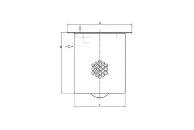 Mann & Hummel Luftentölelement entspr. 4900051131 / 4900050131