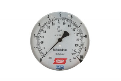 Manometer D 160 für Blitz Pneustar 750707
