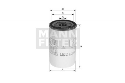Mann Filter: Mann & Hummel Luftentölbox / LB 1374/2
