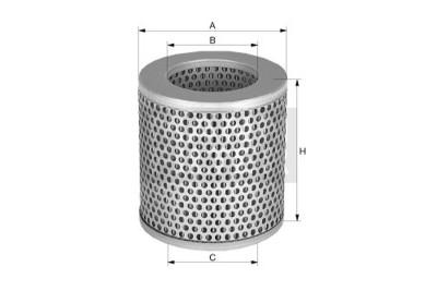 Mann Filter: Mann & Hummel C1132 Luftfilter