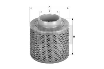 Mann Filter: Mann & Hummel C17100 Luftfilter