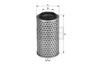 Mann Filter: Mann & Hummel C20325/2 Luftfilter