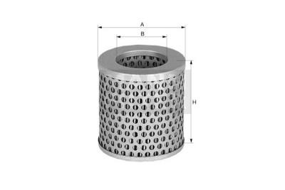 Mann Filter: Mann & Hummel C75 Luftfilter
