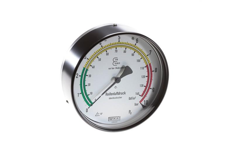 Manometer für reifenfüller