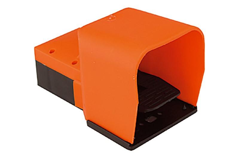 G 1//4 monostabil 5//2 Wege Fussventil nicht rastend mit Fußschutz RI-513.106