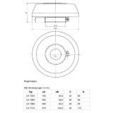Mahle Filter: Regenkappe LK 7045 / 79601162