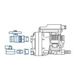 Anschluss-Set für Kondensatableiter / Kondensomat Bekomat 14 / 14 CO / 2000042