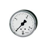 Standard Manometer 0-16 bar, Ø 50 mm, G 1/4, Stahlblech RI-207