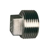 Verschlussstopfen, 4-kant, Edelstahl, G 1/8 zylindrisch 111845