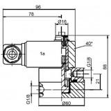 Mahle Filter: Differenzdruckanzeiger PiS 3086 /1,2 bar, elektrisch / 77737513