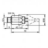 Mahle Filter: Druckschalter Öffner DSO 1,2 bar G1/4 ST / 77870587