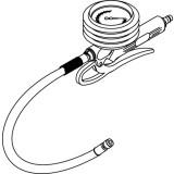 Reifenfüller 0 - 25 bar mit Momentstecker Blitz Pneujet BL-2532